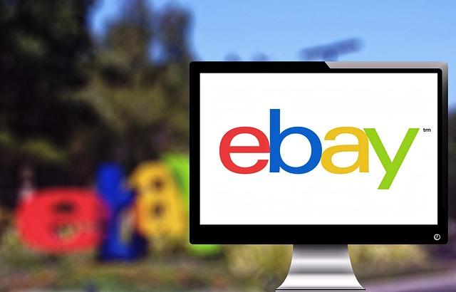 ebay na obrazovce
