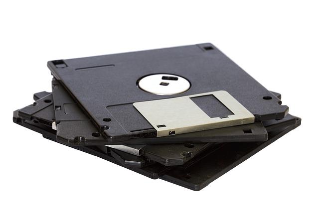 staré diskety