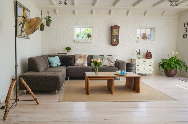 obývací pokoj v domě