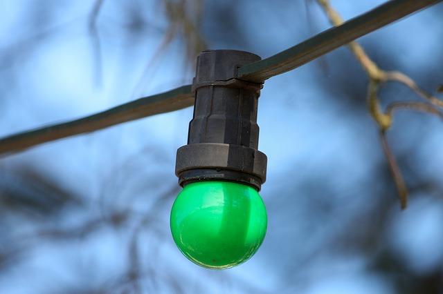 Zelená žárovka