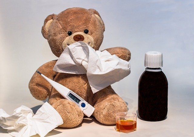 horečka, nemoc