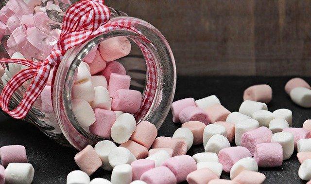 sladké bonbony