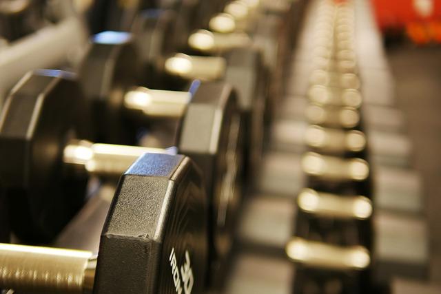 fitnes činky